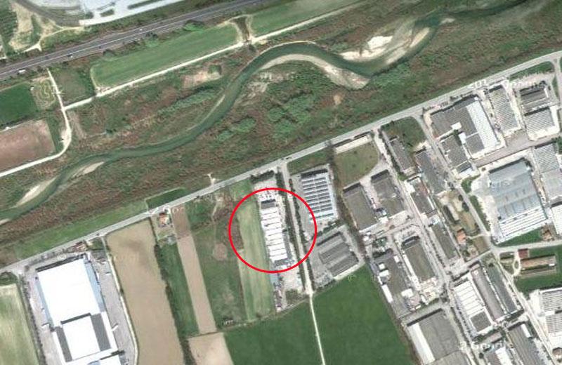 Lo stabilimento dell'ex Metalstampa dove sarà operativa la centrale a biomasse
