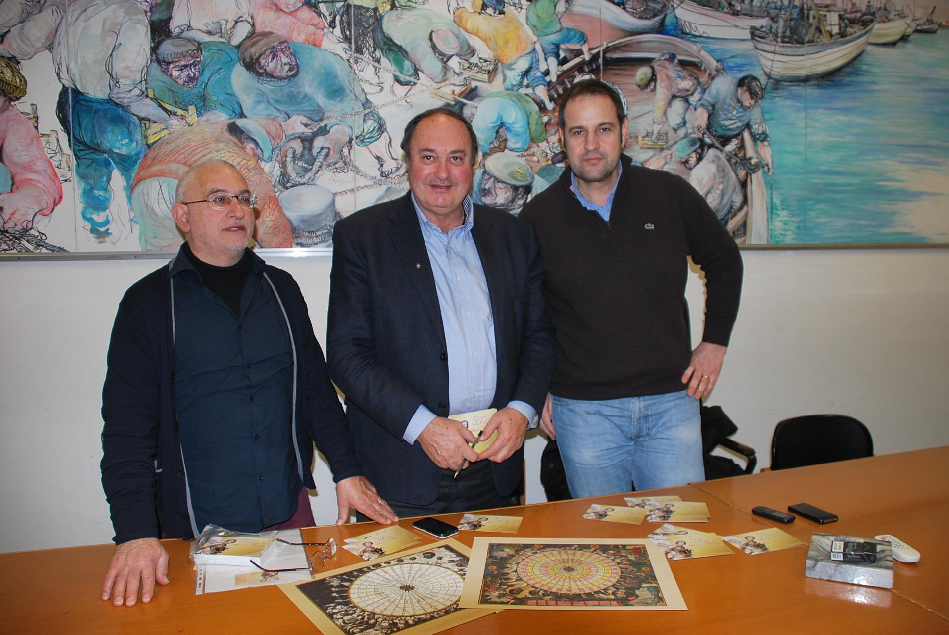 L'assessore Urbinati con Vincenzo Amato e Gianni Brandozzi