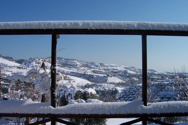 Neve nella valle dell'Albula, foto di Giambattista Burrasca, 2012