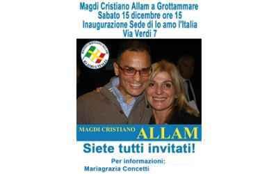 Maria Grazia Concetti e Magdi Cristiano Allam (fonte sito nazionale
