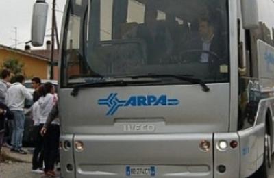 Un autobus dell'Arpa