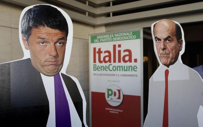Bersani contro Renzi