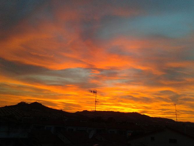 roberta corimbi_Rosso tramonto