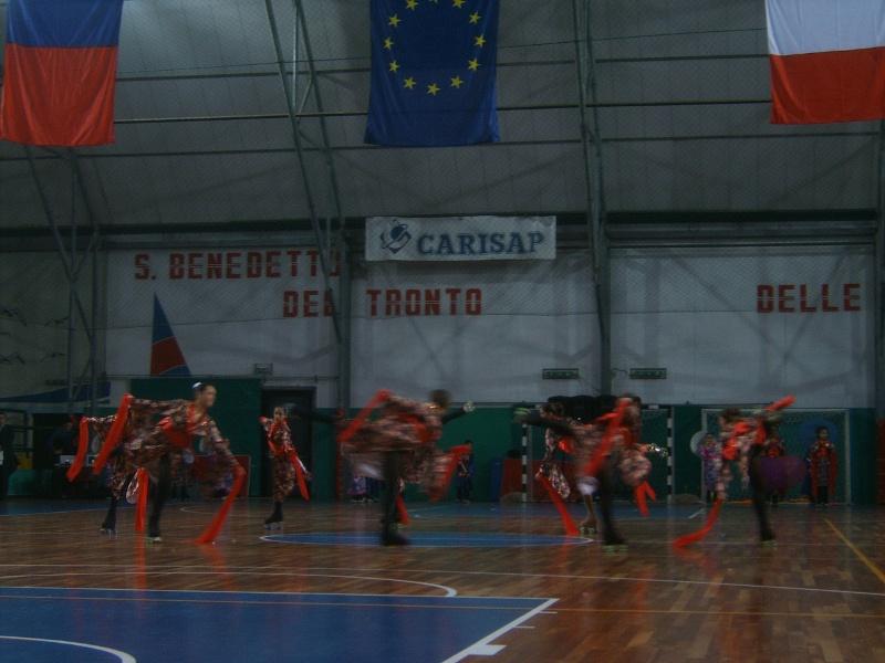 xx festa dello sport - L'esibizione dell'Ass. Sportiva Diavoli Verde Rosa