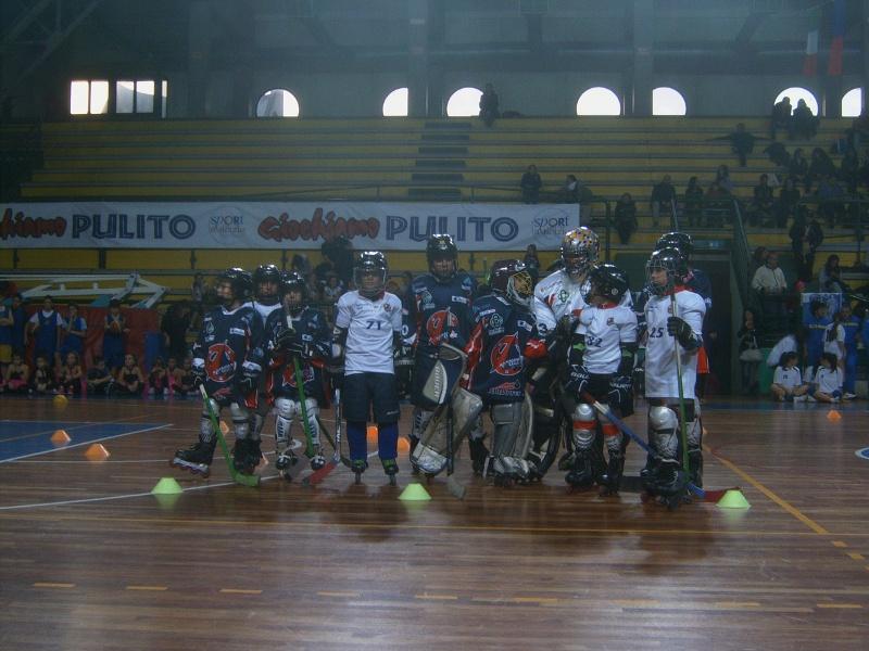 xx festa dello sport- Esibizione Pattinatori Sambenedettesi Hockey in line