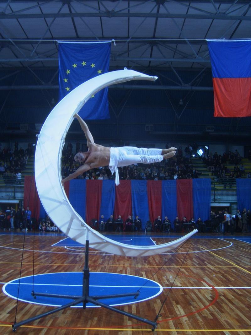 xx festa dello sport- L'esibizione di Andrea Togni