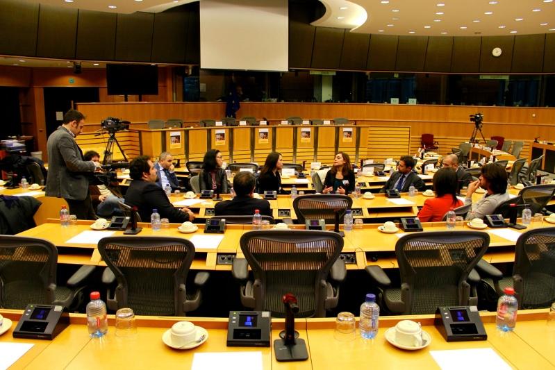 Eurotrip - Bruxelles: un momento dell'incontro presso la sede della Commissione Europea