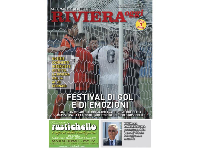 La copertina del settimanale in edicola. È il numero 946