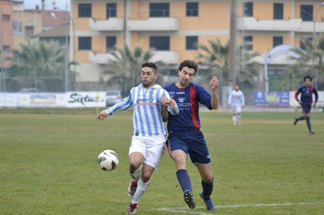 Alessio Rosa in azione