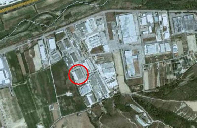 Lo stabilimento della Stam nella zona industriale di Vallecupa