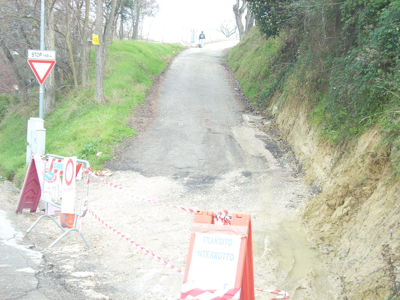 Sgombero in Via Montefeltro