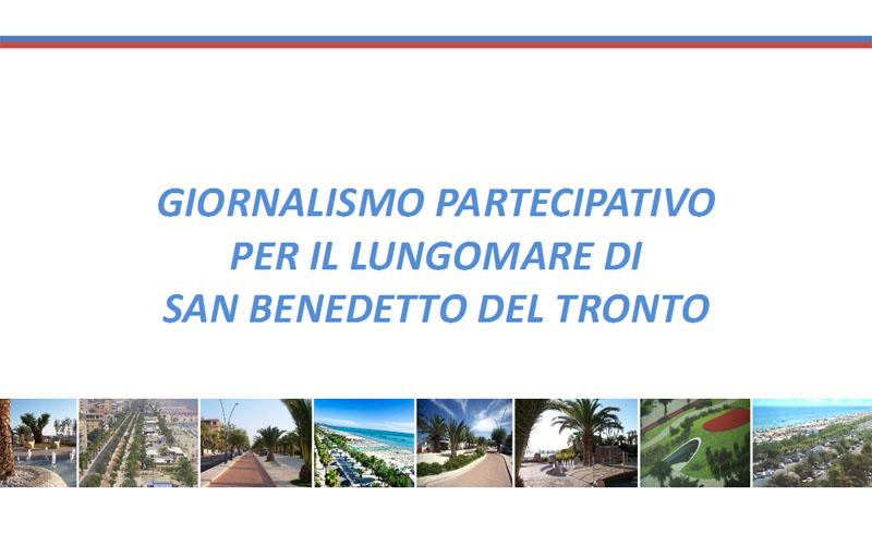 Giornalismo partecipativo per il lungomare di San Benedetto