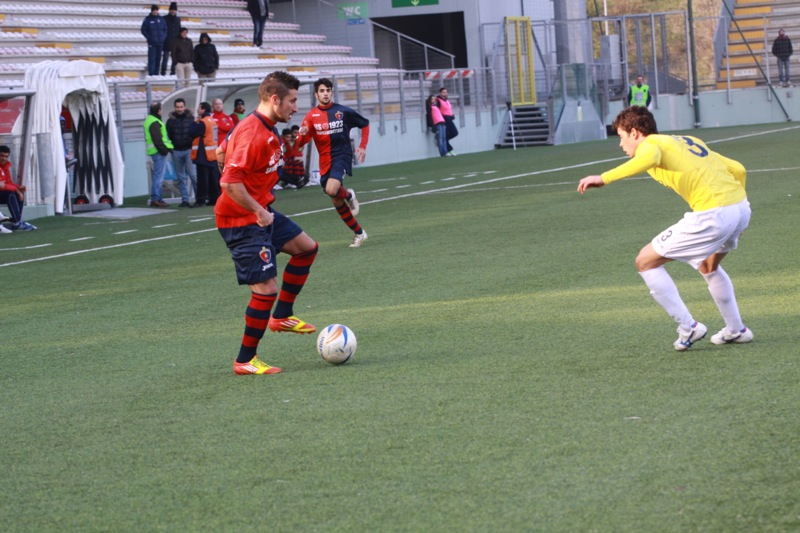 Amiternina-Samb, Santoni in azione(foto Bianchini)