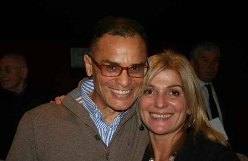 Maria Grazia Concetti con Magdi Cristiano Allam