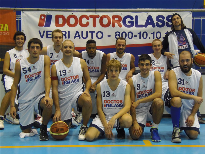 La Doctor Glass Junior Basket Grottammare 2012/2013