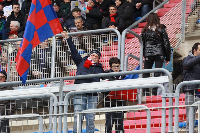 Samb-San Cesareo 3-3 (foto Bianchini) giovanissimi tifosi