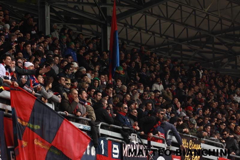 Samb-San Cesareo 3-3 (foto Bianchini) tifosi
