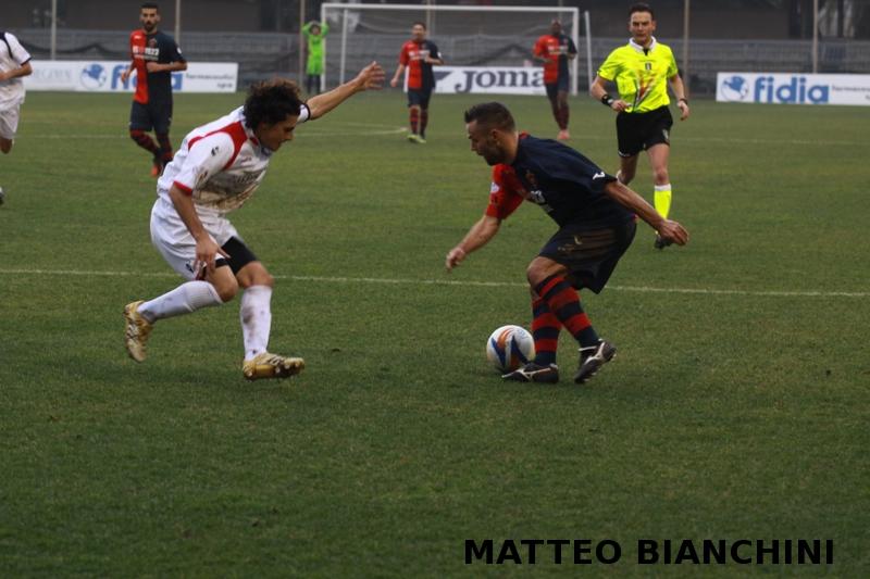 Samb-San Cesareo 3-3 (foto Bianchini) Napolano
