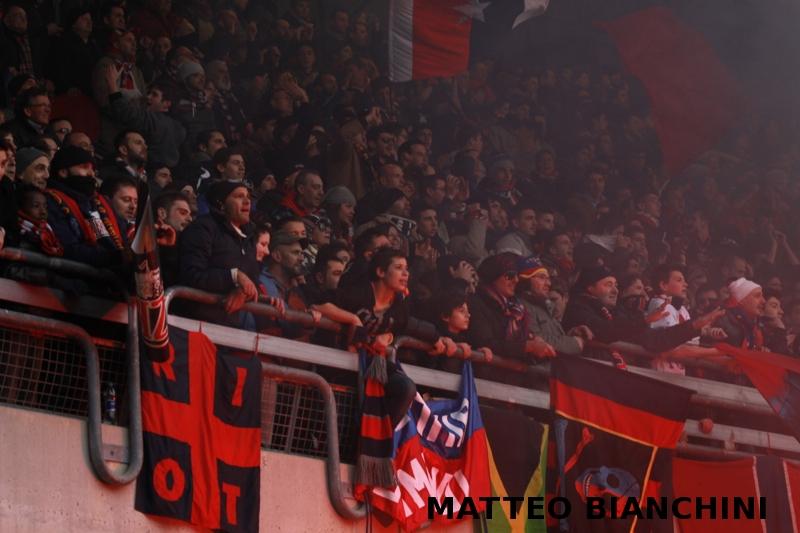 I tifosi della Curva Nord (foto Bianchini)