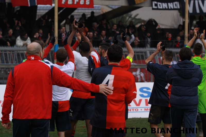 Samb-San Cesareo 3-3 (foto Bianchini)
