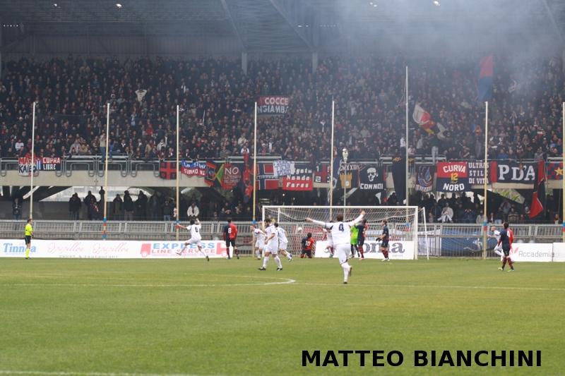 Samb-San Cesareo 3-3 (foto Bianchini) gol