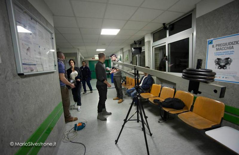 Le riprese per lo spot Coca-Cola al Val Vibrata di Sant'Omero