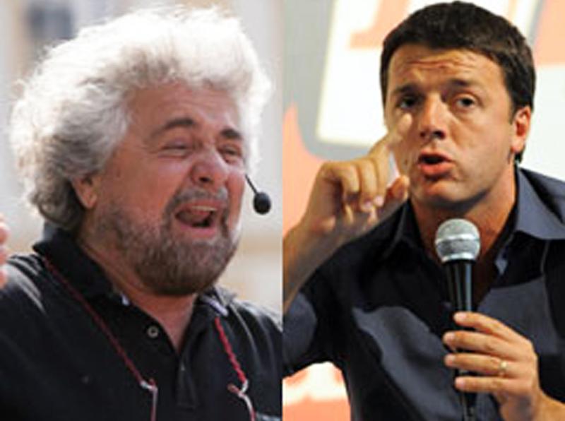 Grillo e Renzi, quando la protesta si assomiglia