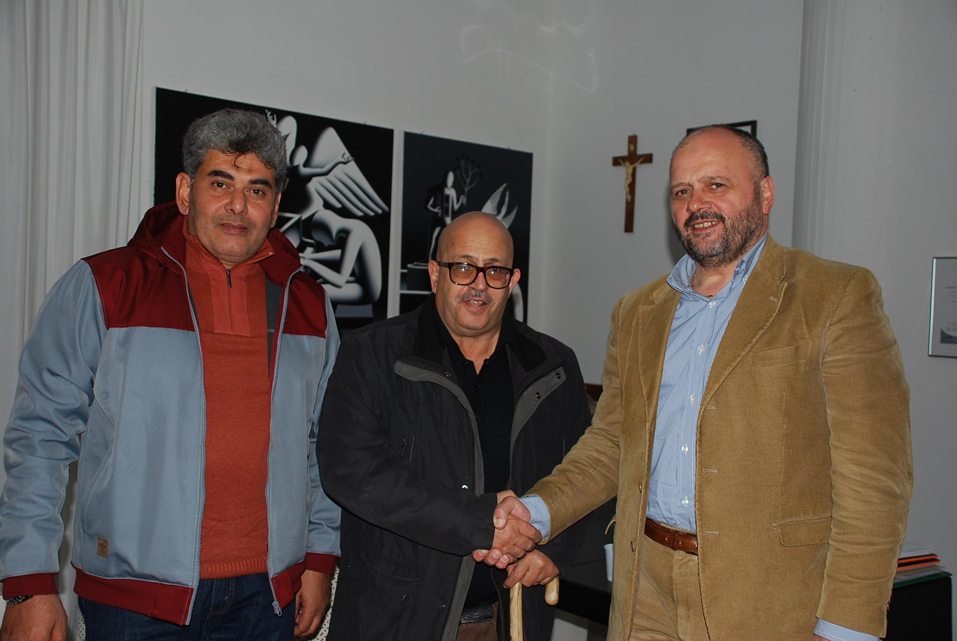 Libici a San Benedetto con il sindaco Gaspari