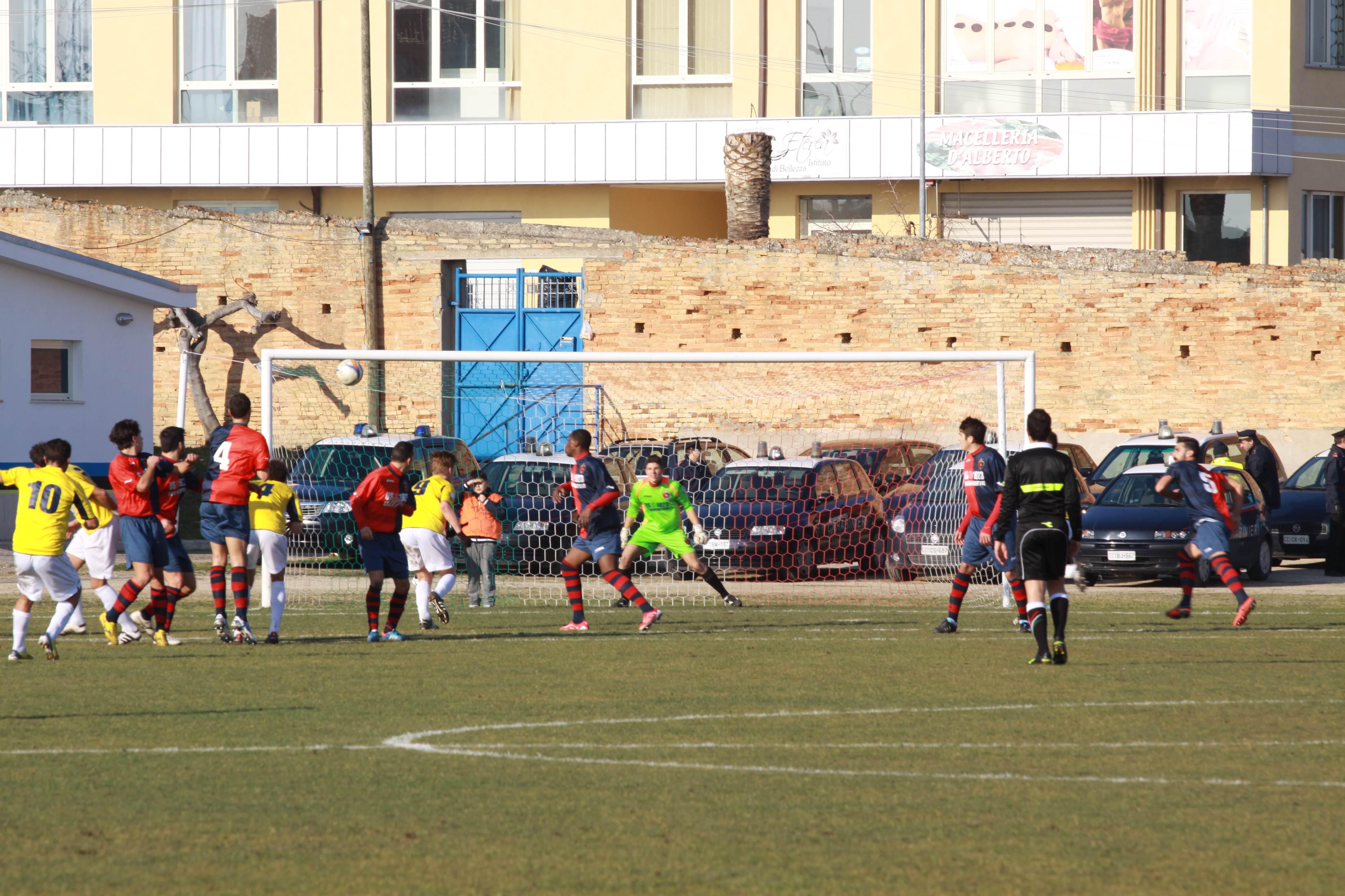 rca samb, il primo gol