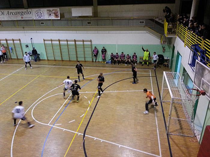 Lo Sporting Grottammare durante una partita ( fonte www.sportinggrottammare.it )