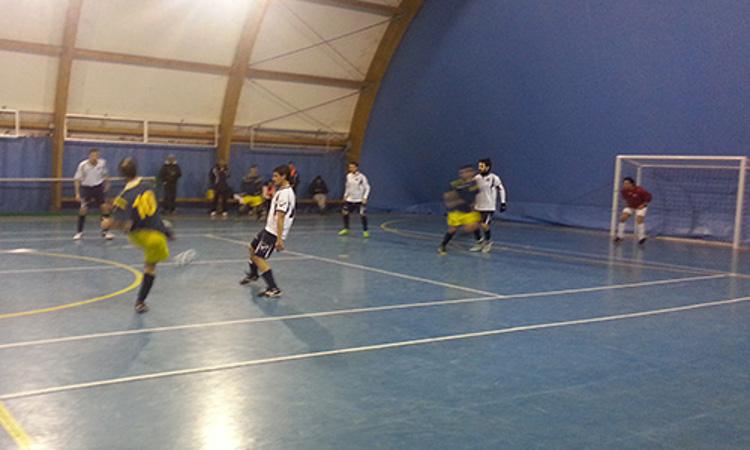 Real Casabianca - Sporting Grottammare, un momento della partita (fonte www.sportinggrottammare.it)