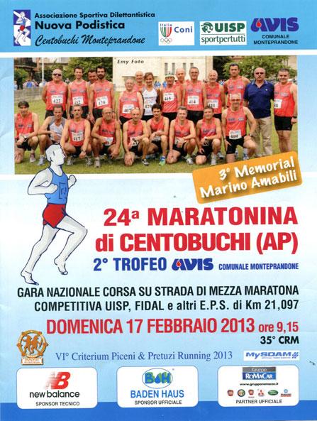 24 Maratonina di Centobuchi