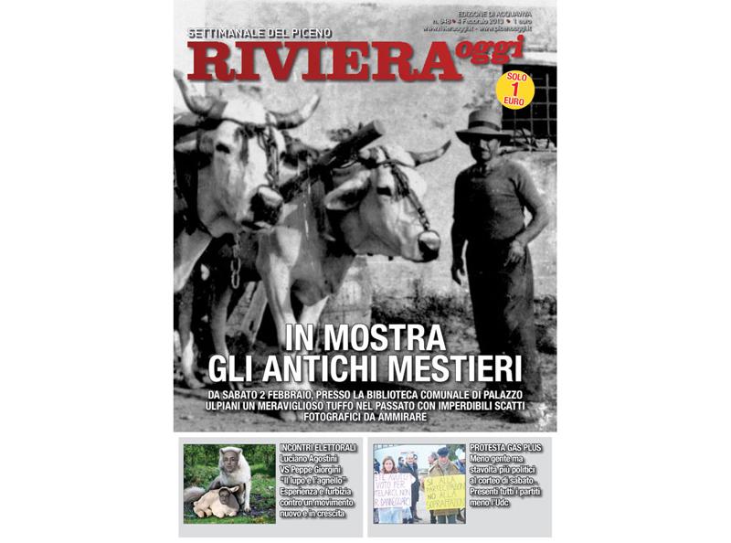Riviera Oggi in edicola, edizione per Acquaviva Picena
