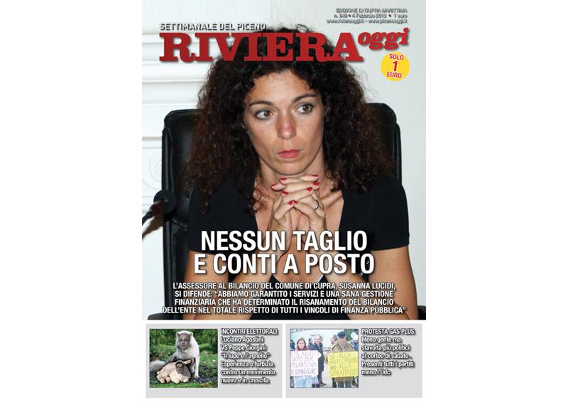Riviera Oggi in edicola, edizione per Cupra Marittima