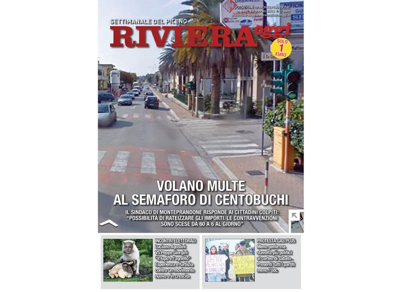 Riviera Oggi in edicola, edizione per Monteprandone