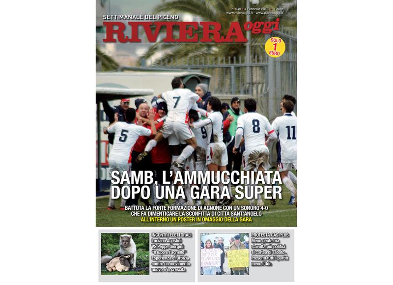 Riviera Oggi in edicola, edizione per San Benedetto