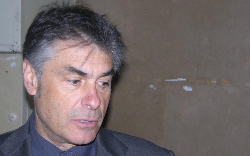 Alberto Soldini qui nel Tribunale di Ascoli nel giugno 2006
