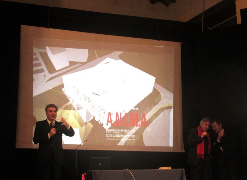 Anima presentazione progetto con  Bernard Tschumi(1)
