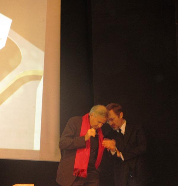 Anima presentazione progetto con  Bernard Tschumi(2)