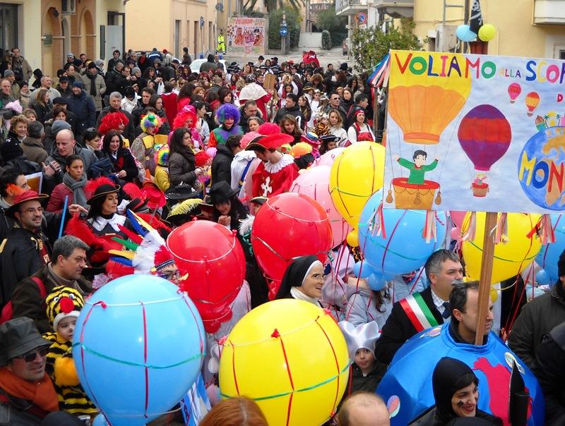 Carnevale Cupra Marittima Okayanimazione
