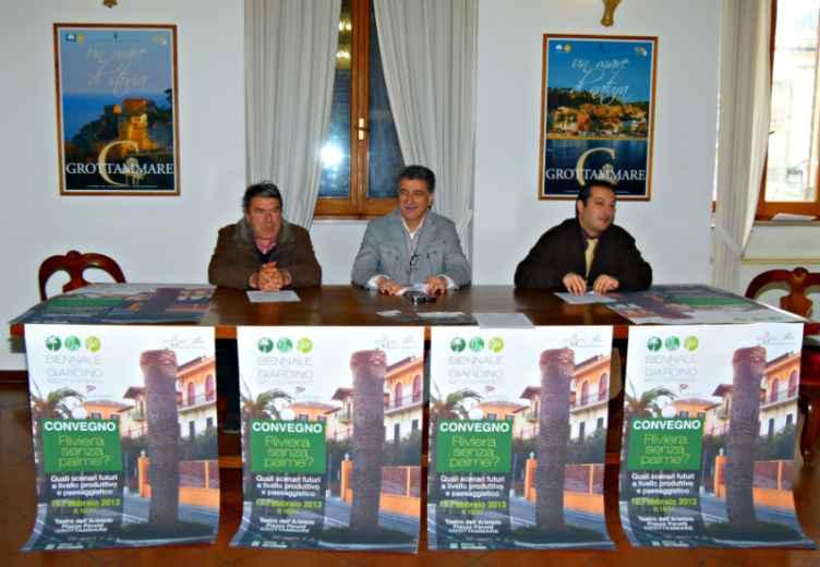 Convegno Riviera senza palme Pino Santori, Lugi Merli e Massimo Sandroni