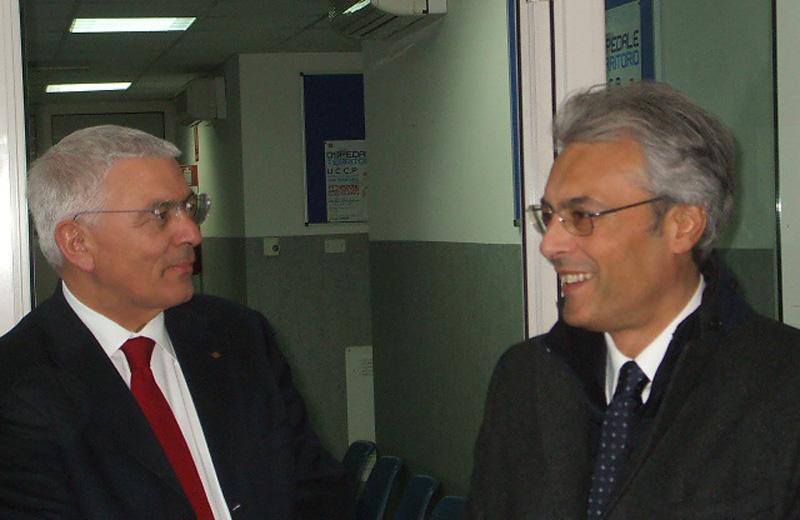 Giustino Varrassi e Gianni Chiodi
