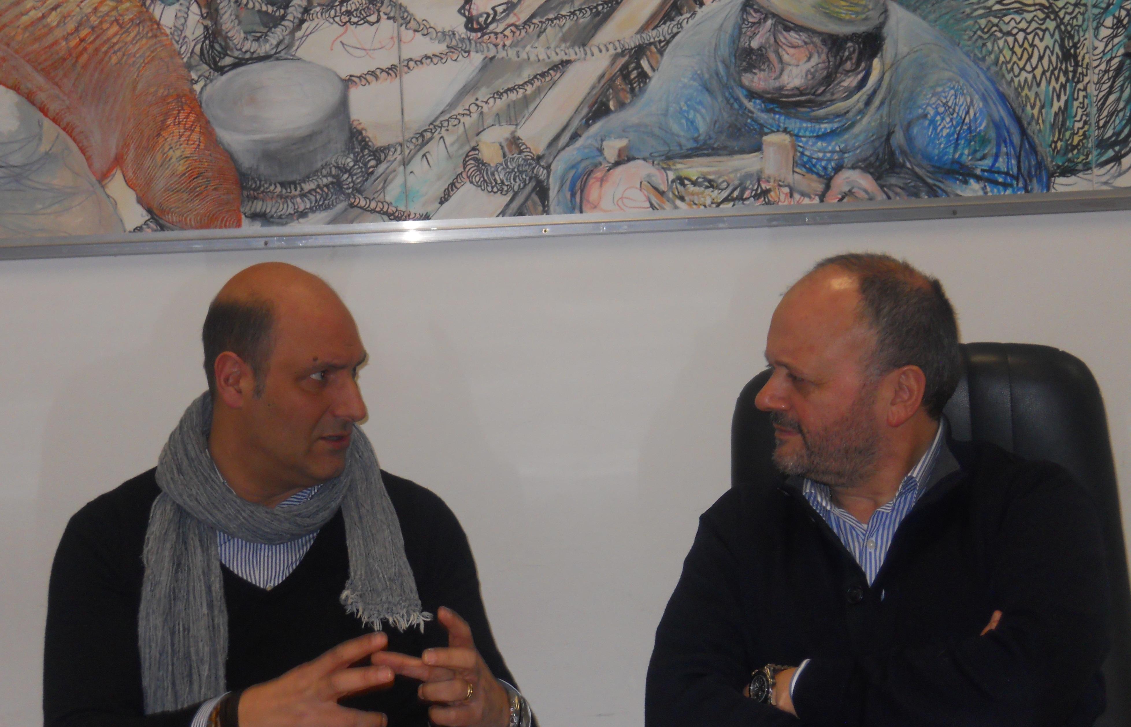 Giovanni Gaspari e Lito Fontana