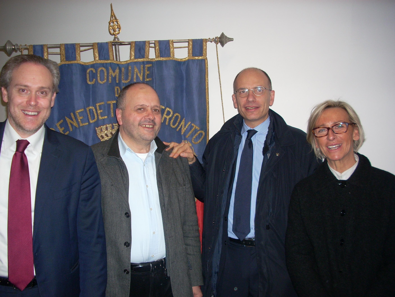 Di Francesco, Gaspari, Letta e Sorge