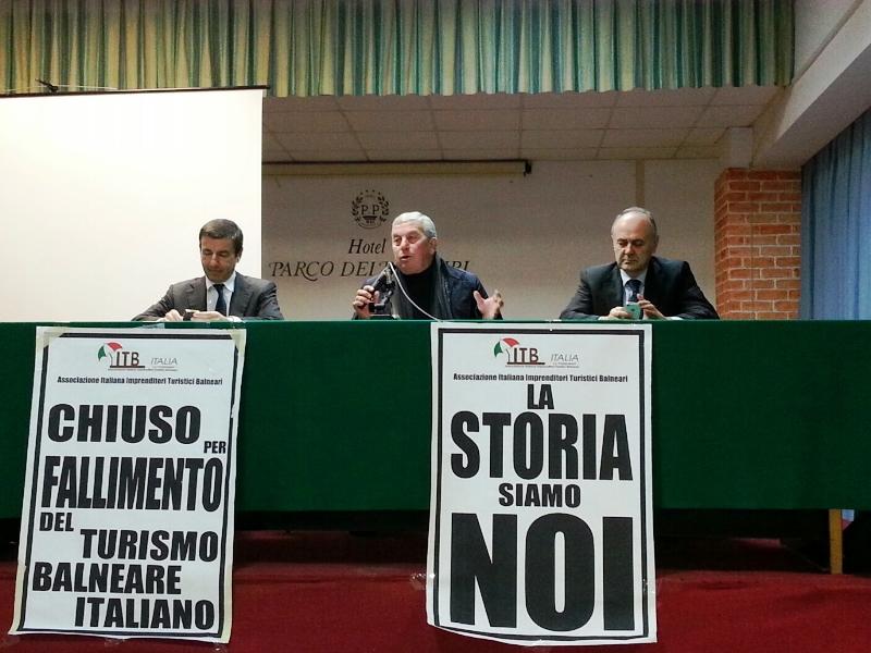 Da sinistra: Ignazio Abrignani, Giuseppe Ricci, Remigio Ceroni