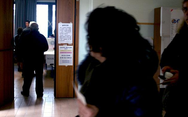 Elezioni 2013 (ph. tatiana garrettoni)