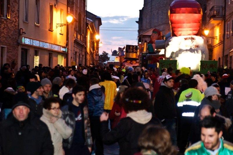 Il belvedere a Carnevale Montefiore 2013
