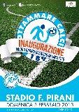 Inaugurazione stadio Pirani 2 di Grottammare