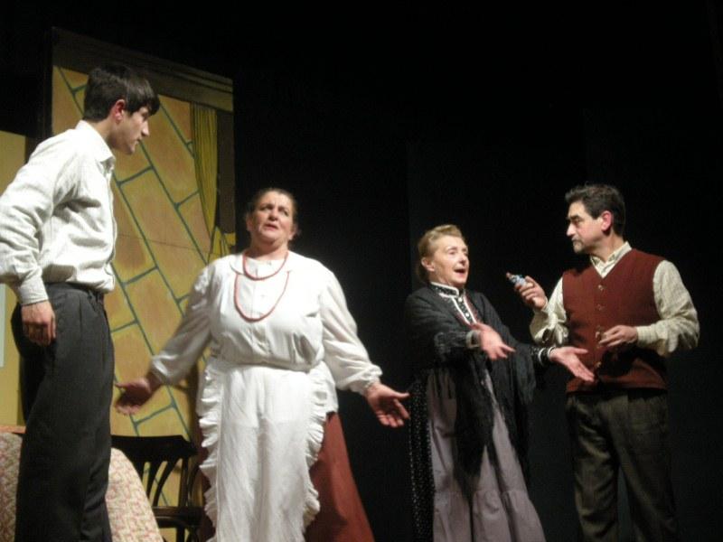 Inverno Teatrale Cuprense 2013 Natale a casa de Sor Ansermo