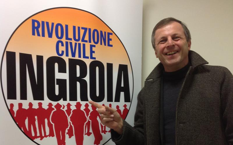 Ivan Rota, candidato di Rivoluzione Civile nelle Marche
